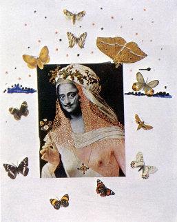SALVADOR DALI ~ PASSAGE OF BUTTERFLIES 24x36 FINE ART POSTER Print Papillons