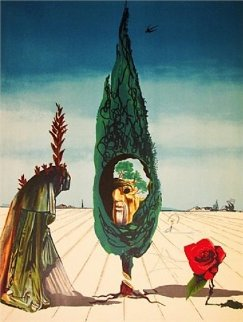Visions Surrealiste Suite of 4 1976 Limited Edition Print - Salvador Dali