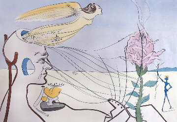 Untitled Lithograph Limited Edition Print - Salvador Dali