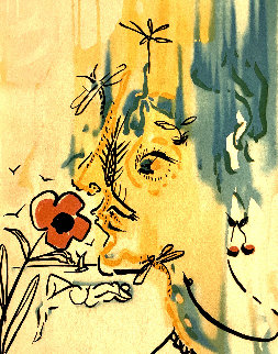 Vanishing Face HC 1980 Limited Edition Print - Salvador Dali