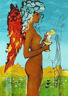 Love's Promise 1976  Limited Edition Print - Salvador Dali