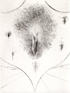 Sexe 1972 Limited Edition Print - Salvador Dali