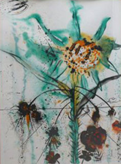 Sun Goddess Flower EA 1972 Limited Edition Print - Salvador Dali