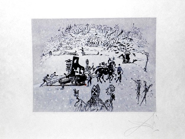 Tauramachies Surrealiste the Piano in the Snow 1970 (Early)