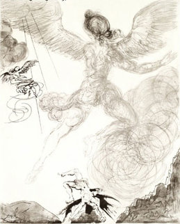 Mythology Icarus 1963 (early) Limited Edition Print by Salvador Dali