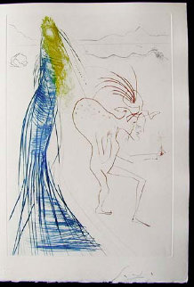 Tristan Et Iseult Frocin, the Bad Dwarf 1970 (Early) Limited Edition Print - Salvador Dali