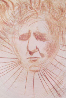 Head of Ben Gurion (early) Limited Edition Print - Salvador Dali