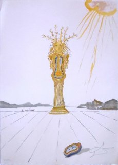Barometer Woman 1976 Limited Edition Print - Salvador Dali