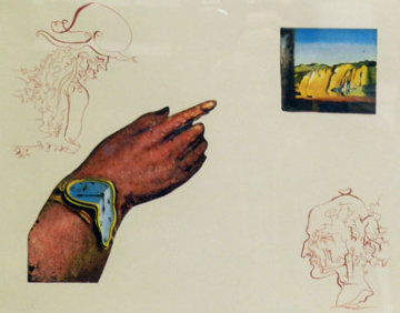 Reflection  One of Three From the Cycles of Life 1979 Limited Edition Print - Salvador Dali