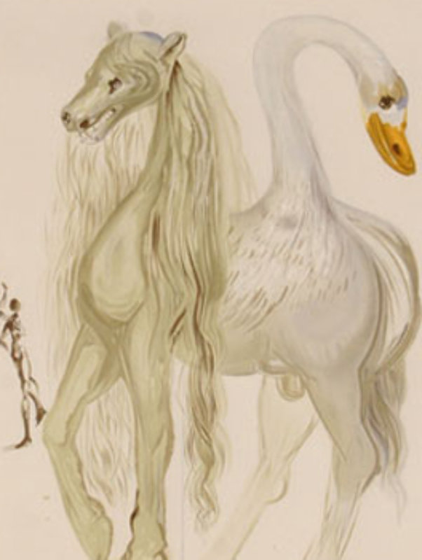 Le Chimere D'horace From Dalinean Horses 1972