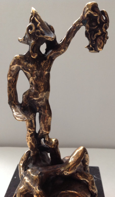 Perseus, Homage to Benvenuto Cellini Bronze Sculpture 1976