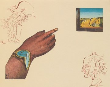 Cycles of Life - Portfolio Suite of 3 Etchings 1979 Limited Edition Print - Salvador Dali