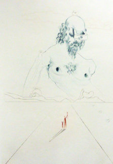 Le Colosse 1972 Limited Edition Print - Salvador Dali