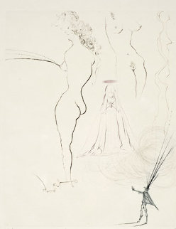 Femmes Surrealistes 1974 Limited Edition Print - Salvador Dali
