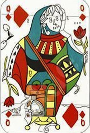 Queen of Diamonds, Playing Cards 1972