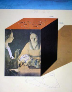 Memories of Surrealism Caring For a Surrealist Watch 1971 (Early) Limited Edition Print - Salvador Dali