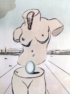 Birth of Venus 1979 Limited Edition Print - Salvador Dali