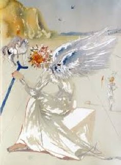 Homage to Homer Suite Return of Ulysses And Helen of Troy, Suite of 2 1977 AP Limited Edition Print - Salvador Dali