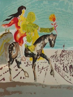 New Jerusalem Suite: The Messiah 1980 Limited Edition Print - Salvador Dali