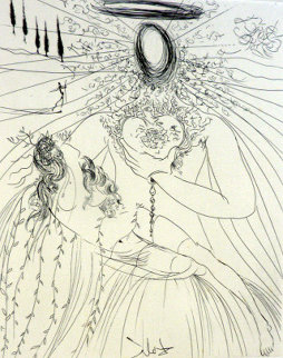 To Every Captive Soul 1974 Limited Edition Print - Salvador Dali