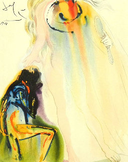 Adelaide's Promise 1968 (Early)  Limited Edition Print - Salvador Dali