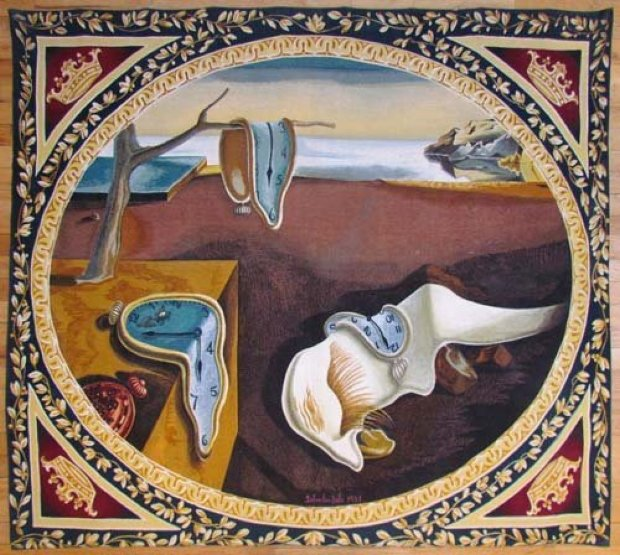 Persistence of Memory Tapestry 1975
