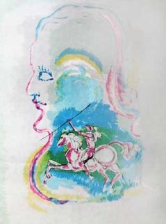Dreams of a Horseman 1979 Limited Edition Print - Salvador Dali