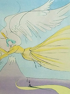 Hagoromo, Japanese Fairy Tales Limited Edition Print - Salvador Dali