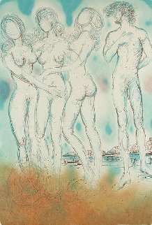 Mythology Suite: Judgment of Paris 1973 Limited Edition Print - Salvador Dali
