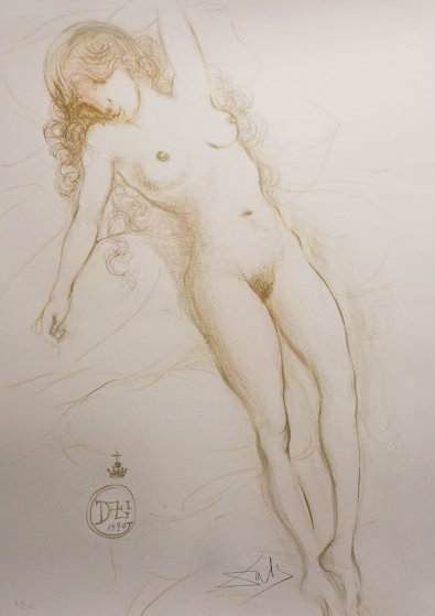 Nude With Raised Arm 1970