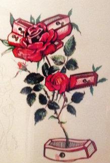 Roses - Floral Suite 1972 Limited Edition Print - Salvador Dali