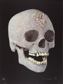 For the Love of God Diamond Skull 2007 Limited Edition Print - Damien Hirst