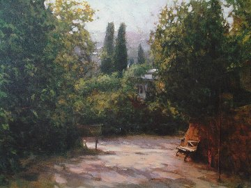 Shady Path 2006 Embellished Limited Edition Print - Dmitri Danish