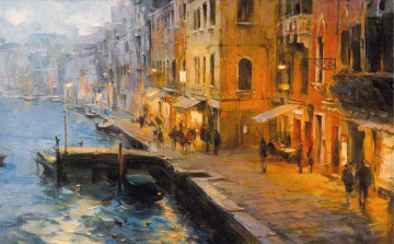 Venice Evening Limited Edition Print - Dmitri Danish