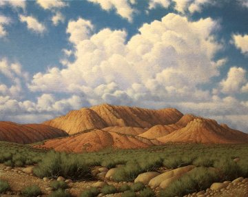 Southern Utah 2011 24x30 Original Painting - David Dalton
