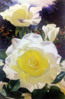 Rose Garden At the Huntington 2000 Limited Edition Print - Brian Davis
