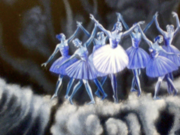 Ballet in the Clouds 24x18