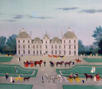 Cheverny 1988 Limited Edition Print - Michel Delacroix