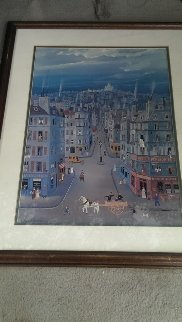 Montmartre, Paris Limited Edition Print - Michel Delacroix
