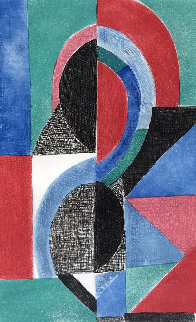 Avec Moi Meme 1970 Limited Edition Print - Sonia Delaunay