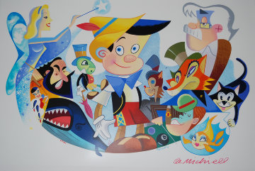 Pinocchio's World 1998 Limited Edition Print - Robert de Michiell