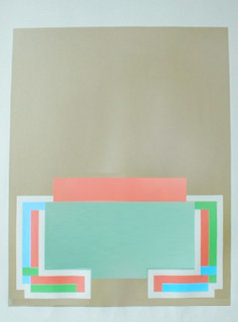 Untitled 1972 Limited Edition Print - Robyn Denny