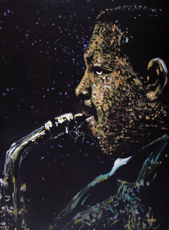 Julian Cannonball Adderley 1987 35x48