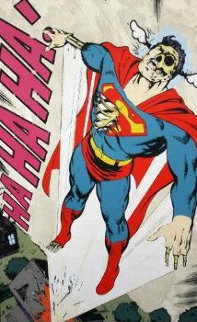 Ha, Ha, Ha Not So Superman AP 2011 Limited Edition Print -  D*Face