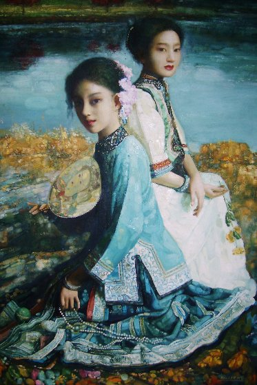 Untitled Asian Girls 2002 55x42