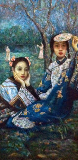 A Summer Day 2006 86x47 Original Painting - Di Li Feng