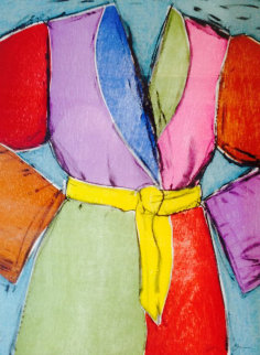 Yellow Belt 2005 Limited Edition Print - Jim Dine