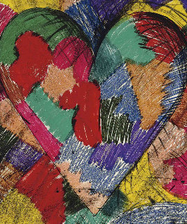 Heart Called Paris Spring, 1982 Limited Edition Print - Jim Dine