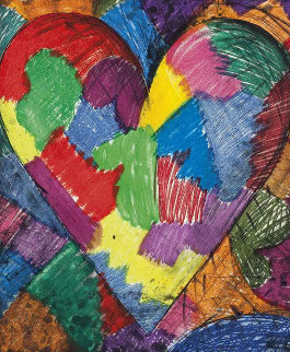 A Beautiful Heart, 1996 Limited Edition Print - Jim Dine