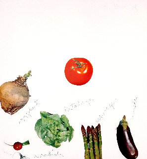 Plate III: Vegetables Suite 1970 Limited Edition Print - Jim Dine